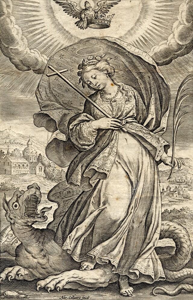 Svatá Markéta Antiochijská - svaté Markéty